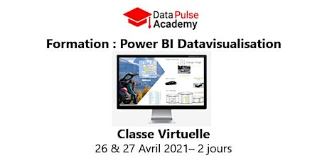Power BI Datavisualisation - 2 jours - 26 & 27 Avril 2021 billets