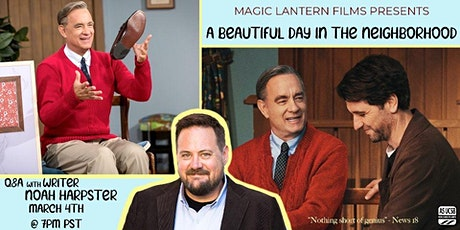 Magic Lantern presents Virtual Q&A with Noah Harpster tickets