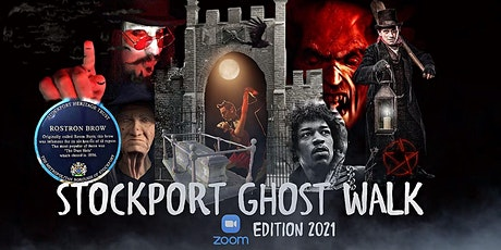 """STOCKPORT GHOST WALK """"ZOOM EDITION"""" 2021 tickets"""
