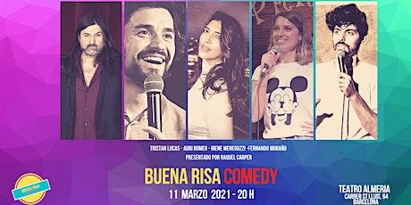 BUENA RISA COMEDY - Plató de Humoristas 11Marzo  BARCELONA entradas