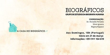 GRUPO DE ESTUDOS PORTUGAL- BIOGRÁFICOS ingressos