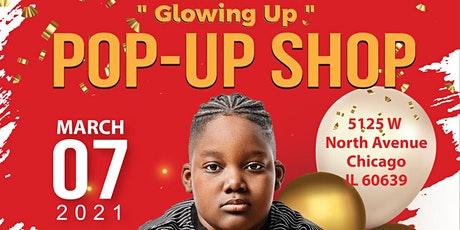 """""""Glowing Up"""" Pop Up Shop tickets"""