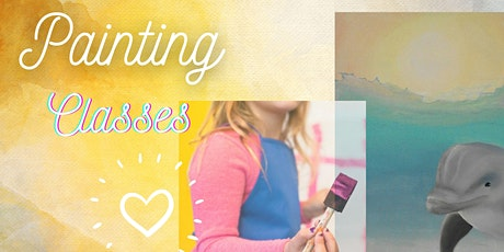 After School Painting Classes - 9 week Course  (for Kids age 6-11) tickets
