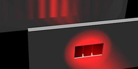 diffrazione e interferenza con laser biglietti
