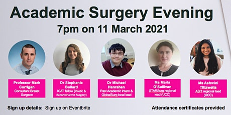 Academic Surgery Evening UCC tickets