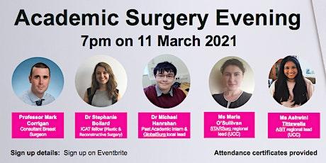 Academic Surgery Evening UCC tickets
