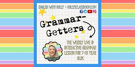 Grammar-Getters (16/3/21) tickets