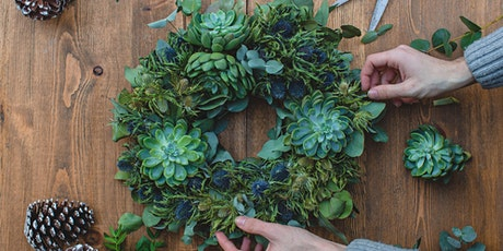 Make Your Own Succulent Wreath tickets