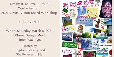 2021 Virtual Vision Board Workshop tickets