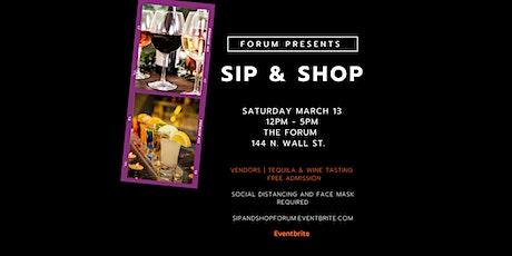 SIP & SHOP AT FORUM tickets