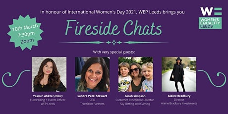 WEP Leeds presents...International Women's Day Fireside Chats tickets