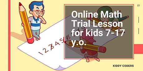 Math class for kids - Private Trial (online) tickets