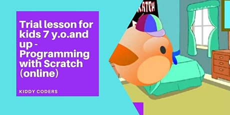 How to Create Animation in Scratch - Private Class for Kids 6 y.o.and up tickets