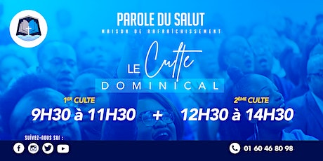 Cultes dominicaux (28/02/2021) tickets
