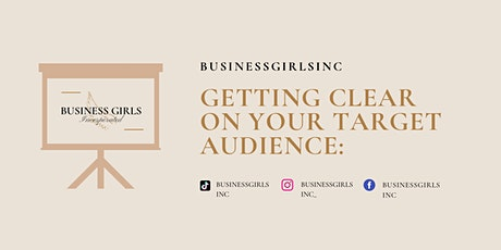 Getting clear on your audience tickets