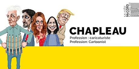 Visite virtuelle Chapleau  • Virtual Tour Chapleau billets