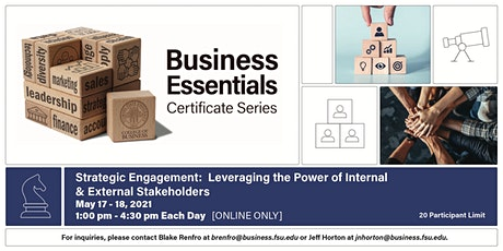 Leveraging the Power of Internal and External  Stakeholders tickets