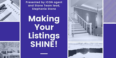 Making Your Listings Shine!! tickets