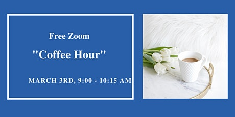 "AMERICAN BUSINESS WOMEN'S ASSOCIATION FREE ZOOM ""COFFEE HOUR""  (March) tickets"