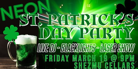 NEON St Paddy's Day Blacklight Party tickets