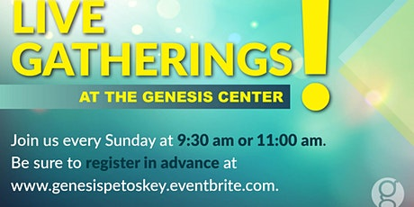 Sunday March 7 - 11:00am  Gathering tickets