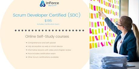 Scrum Developer Certified, Online self-paced tickets