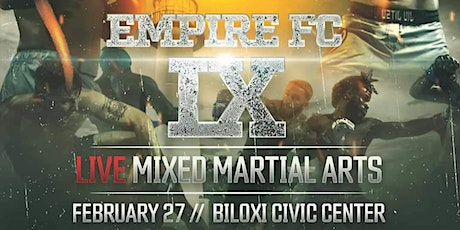 Empire Fighting Championship AFTER PARTY tickets