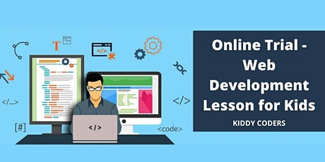 Intro to the Web Development - Private Trial for Kids 9y.o. and up tickets