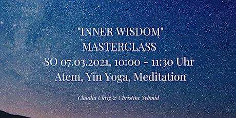 Inner Wisdom Masterclass Tickets