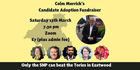 Colm Merrick's Candidate Adoption Fundraiser tickets