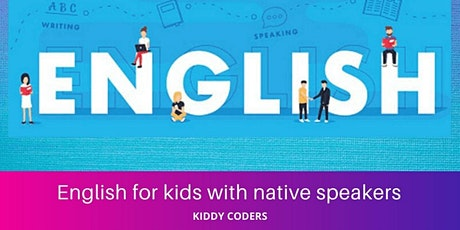 English Private Class (ESOL) for Foreign Kids tickets