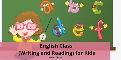 English Private Class (Writing and Reading) for Kids tickets