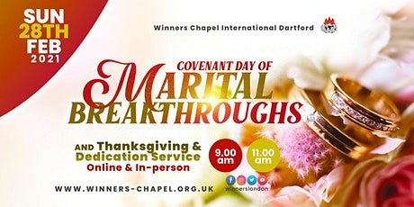2nd Service @Winners Chapel International Dartford tickets