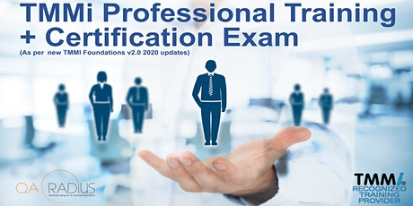 TMMi Professional Certification Training + Optional Exam tickets