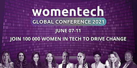 WomenTech Global Conference 2021 tickets