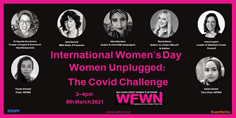 IWD - Women Unplugged: The Covid Challenge tickets