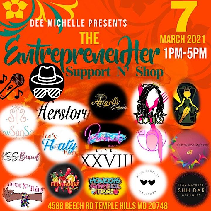 The EntrepreneuHer Support N Shop image