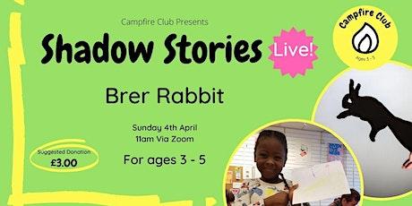 Shadow Stories Live - Brer Rabbit tickets