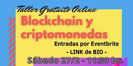 Introducción a Blockchain y criptomonedas entradas