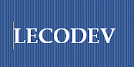 Assemblé Générale de LECODEV billets
