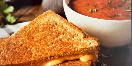 Easy Tomato Soup and Gourmet Grilled Cheese Inspirations tickets