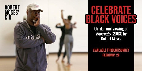 Celebrate Black Voices on-demand access tickets