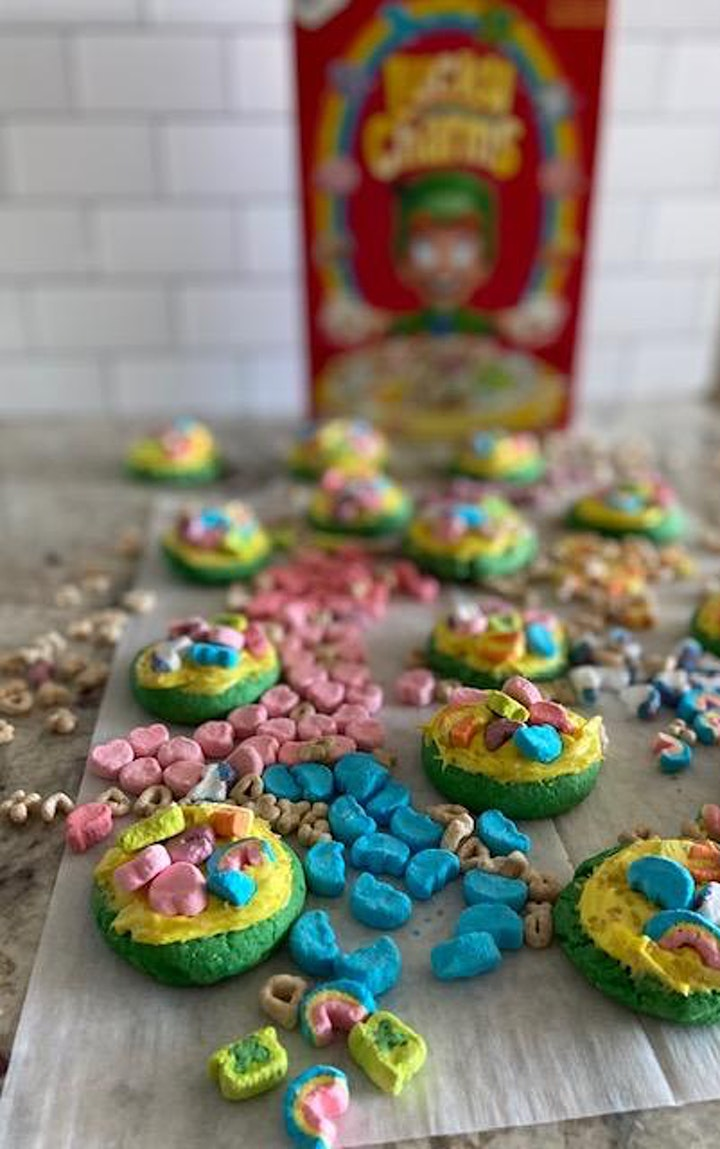 Chef Junior Series: St. Paddy's Day 'Lucky Charm' Cookies image