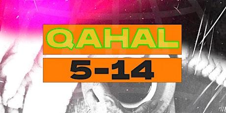 QAHAL 5-14 ingressos