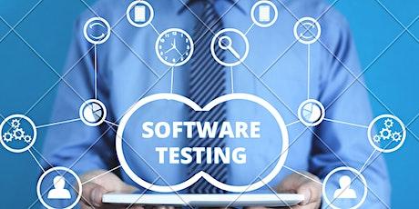 4 Weekends QA  Software Testing Training Course in Kenosha tickets