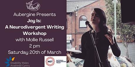 Joy Is: a Neurodivergent Writing Workshop with Mollie Russell tickets
