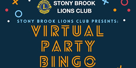 Stony Brook Lions Club Virtual  Bingo Night tickets