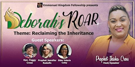 Deborah's Roar 2021 - Reclaiming the Inheritance tickets