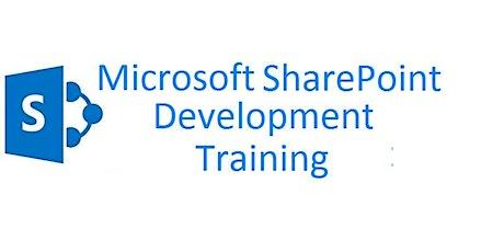 4 Weekends Only SharePoint Development Training Course Pasadena tickets
