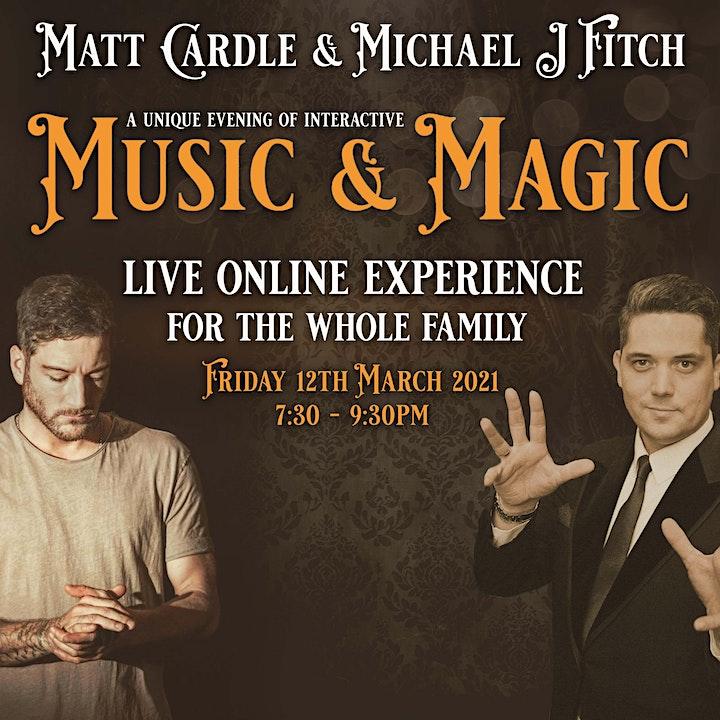 Matt Cardle-Michael J FitchMusic & Magic  LIVE image